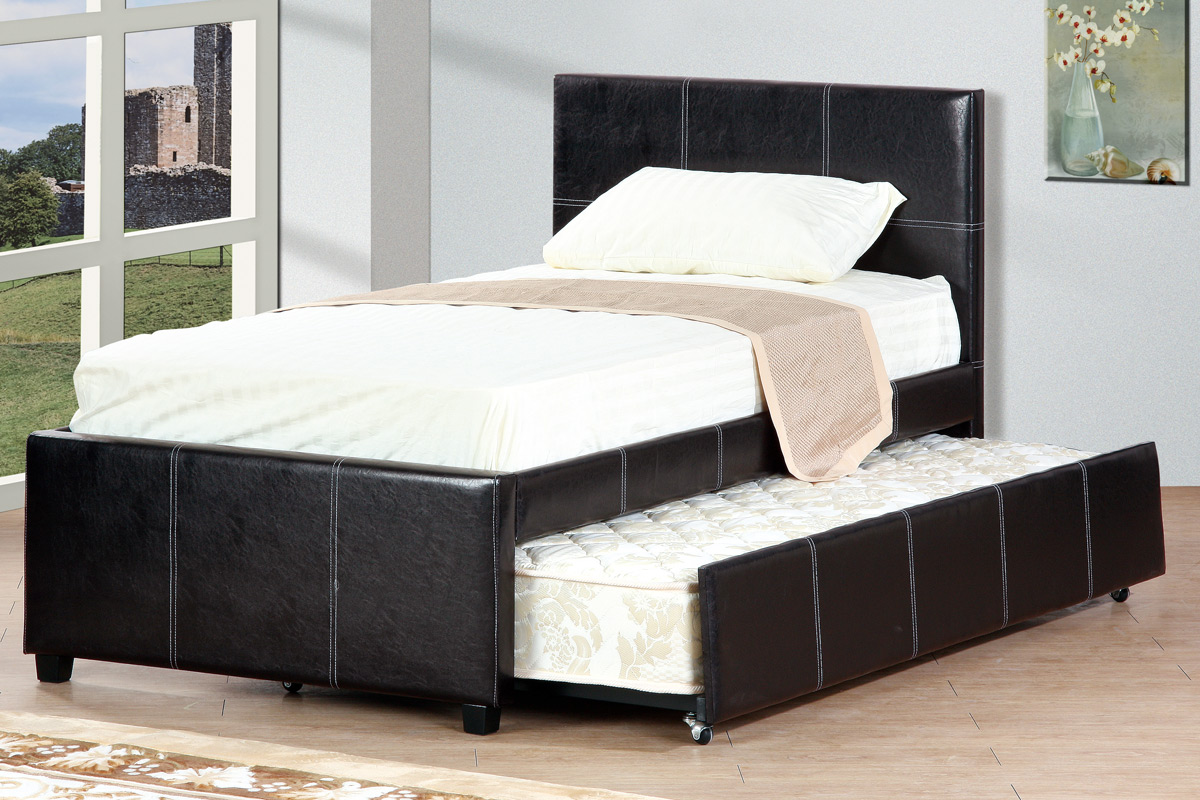 Poundex Queen Bed Frame Drawer