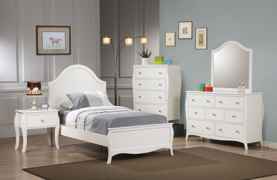 pc bedroom set twin full size 400561co 4 pc bedroom set twin full size