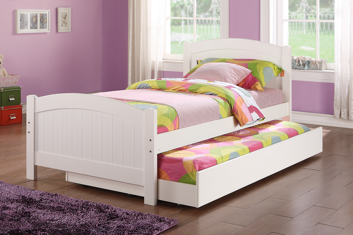 Twin bed with trundle - Add To Wishlist Loading